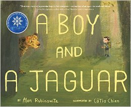 A Boy and A Jaguar. - Dr. Alan Rabinowitz . Artist Cata Chien