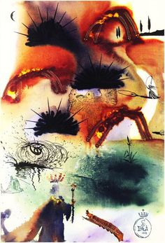 Down the Rabbit Hole The White Rabbit Salvador DalI Alice In Wonderland