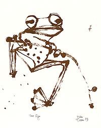 Frog - John Olsen